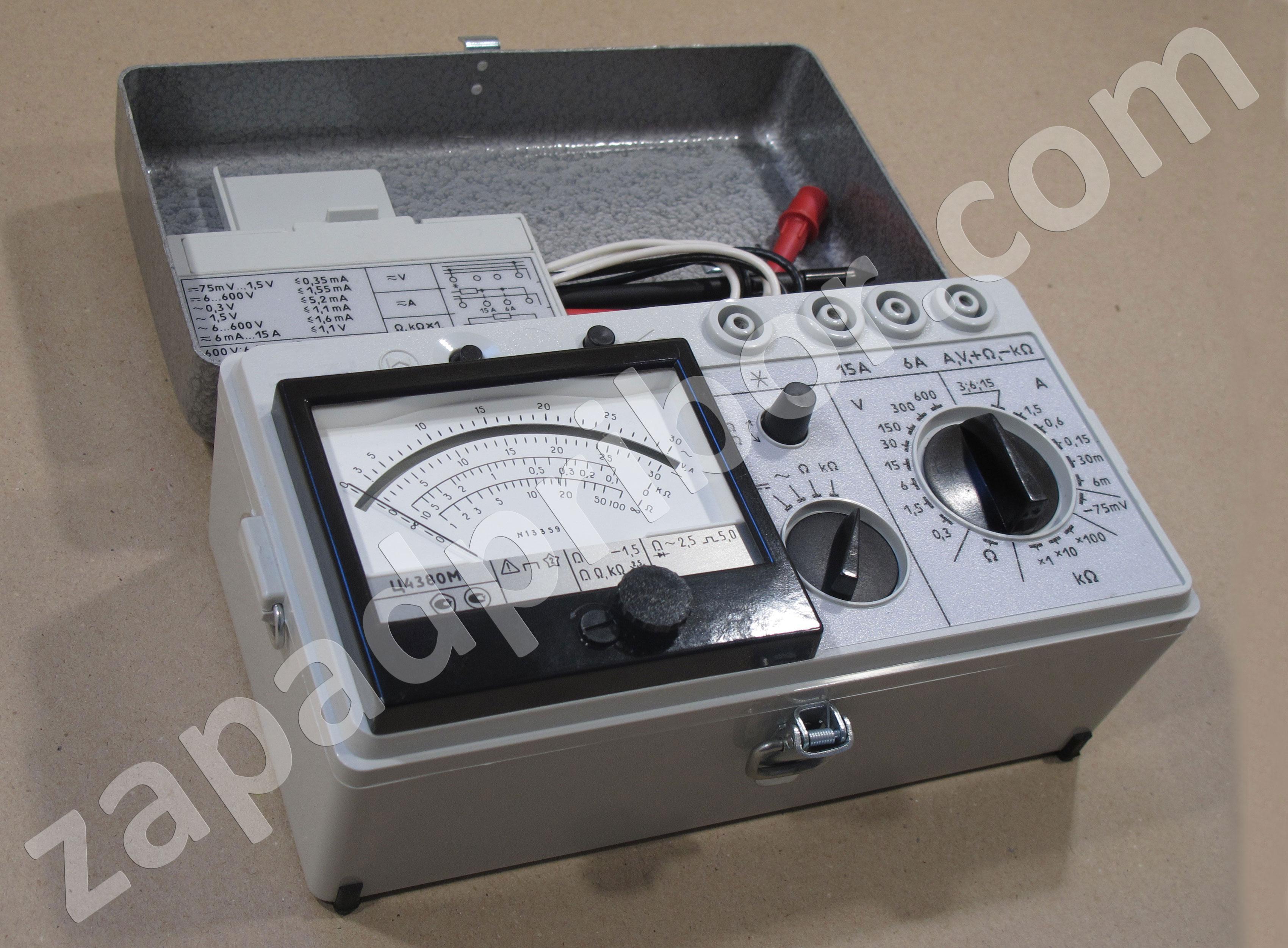 мультиметр эк4302 схема и инструкция