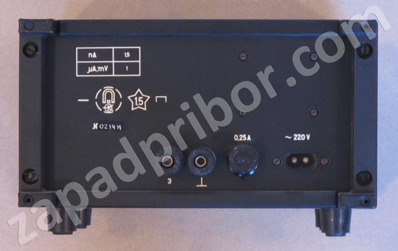 Инструкция Микроамперметр Ф195 - фото 7