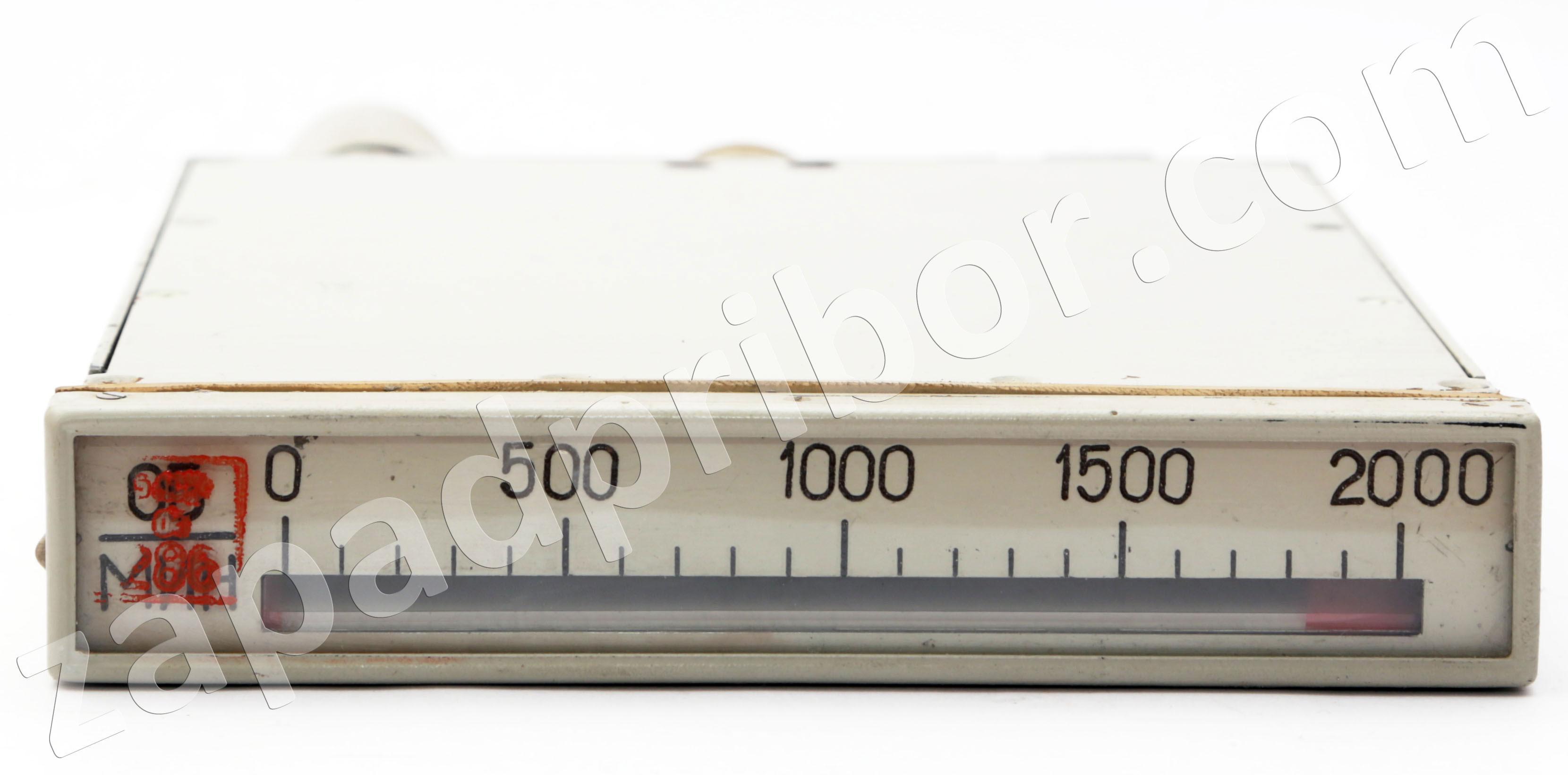 схема узкопрофильный амперметр м1730к