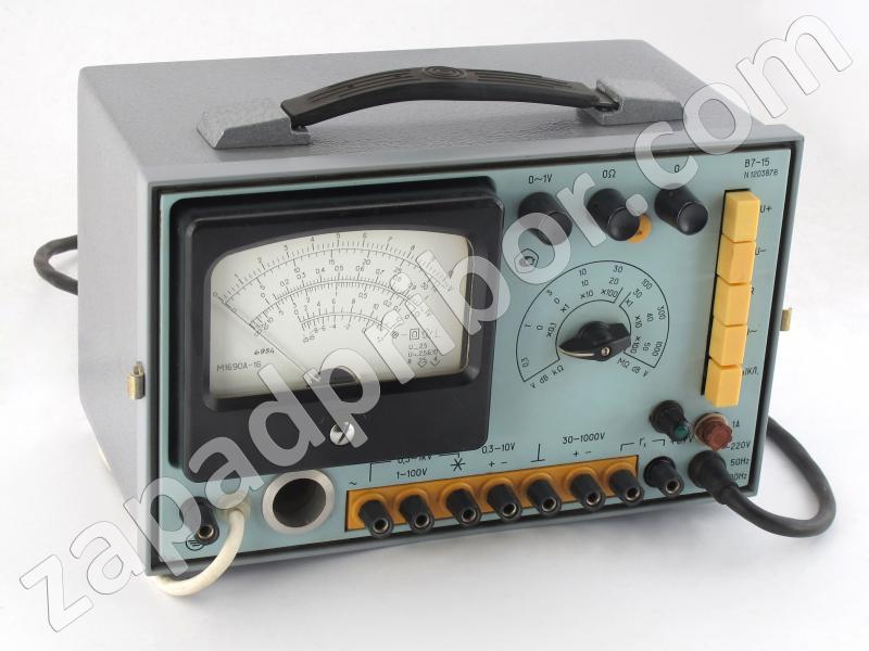 В7-15 фотография вольтметра.