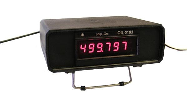 Омметр цифровой ОЦ-0103. Order. Диапазон измерений - 0 Ом-750 Ом. для класса А