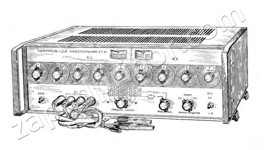 Измеритель LCR Е7-10.