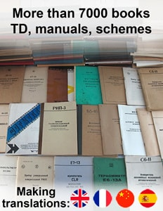 TD, manuals, passports, schemes. Making translations